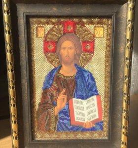 Икона Иисус Христос Спас Вседержитель
