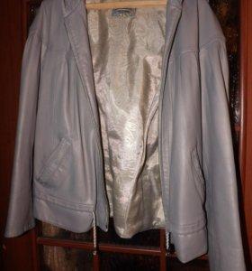 кожаная куртка CRESSIDА