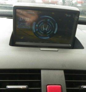 Honda Accord 7 магнитола USB DVD магнитола