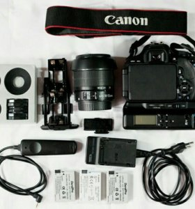 Canon EOS 600D EF-S Kit 18-55 mm