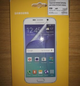 Защитная пленка Samsung для Galaxy S6