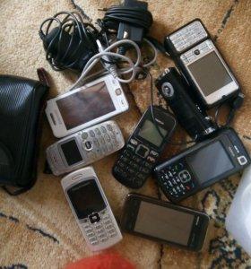 Телефоны ,планшет,ноуты  на разбор