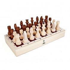 Шахматы деревяные парафинированные с доской