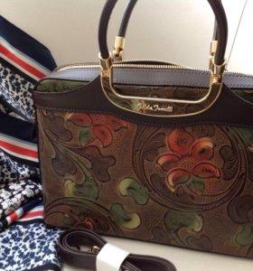 Новая женская сумка Gilda Tonelli.Италия