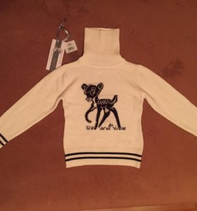 De Sallito Pinetti свитер водолазка 110 новый