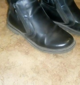 Ботинки 35р осень