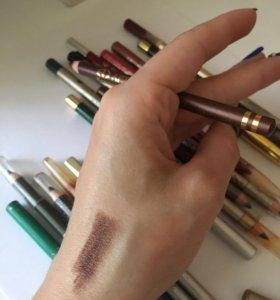 Карандаш для глаз и бровей макияж 💄 перламутр