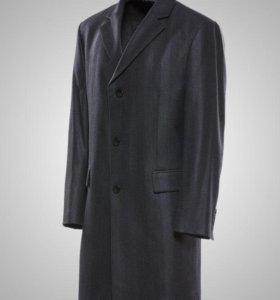 Пальто демисезонное мужское. Шерсть
