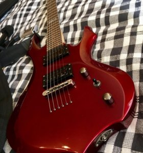 Гитара ESP LTD F-50 (+ чехол, подставка, iRig, ..)
