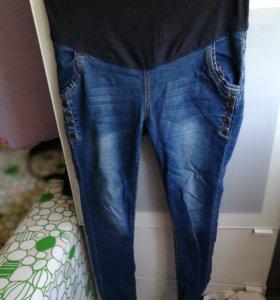 Джинсы и зимние штаны для беременных. Два платья