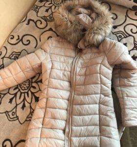 Зимний пуховик в идеальном состоянии