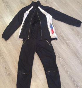 Лыжный костюм на рост 140-146