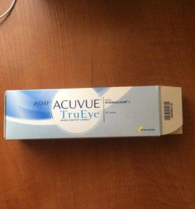 Линзы Acuvue TruEye brand contact lenses