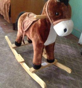 Качалка лошадка