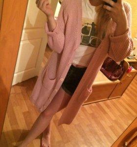 Кардиган розового цвета🔥