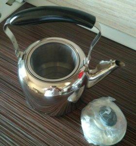 Чайник заварочный новый 2,5л. Bekker