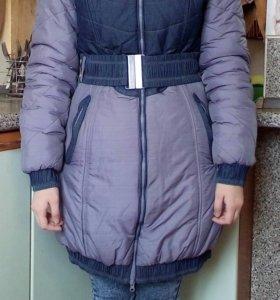 Зимнее пальто -пуховик