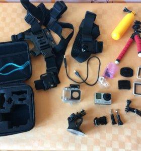 Экшенкамера GoPro hero 4 silver