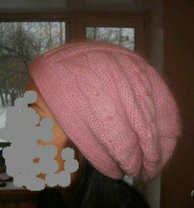 Шубка из кролика + шапка с шарфиком!