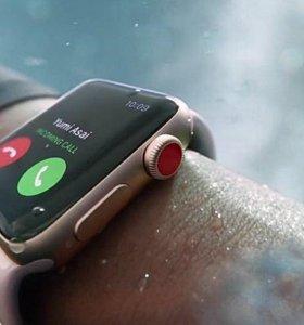 Apple Watch Series 3  42мм sport black