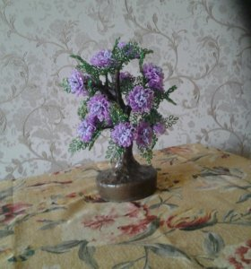 Цветок из бисири
