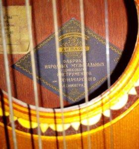 Акустическая женская гитара