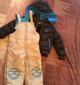 Зимняя куртка комбинезон