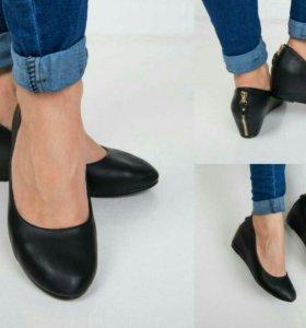 Туфли женскме на платформе