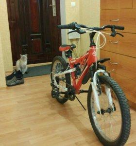 Велосипед спортивный 6 скоростей