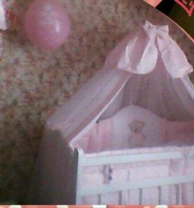 Кроватка для принцессы!!!