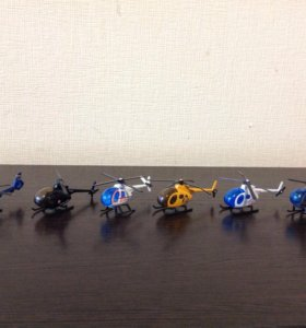 Коллекция вертолётиков
