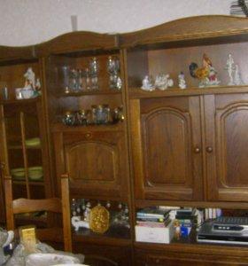 гарнитур для столовой или гостиной винтаж дуб