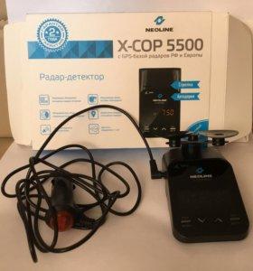 Радар- детектор Neoline. X-COP 5500 новый в упак.