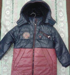 Детские куртки с начёсом по 2500 р