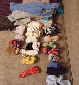 Пакет носочков и колготки 4 пары
