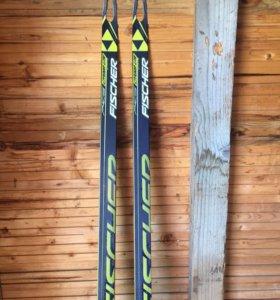 Беговые лыжи Fischer.Коньковые.177 см