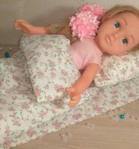Постельное белье для кукол