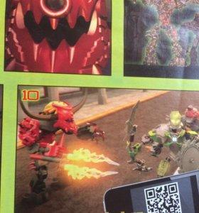 Роботы Лего Herofactory и Chima