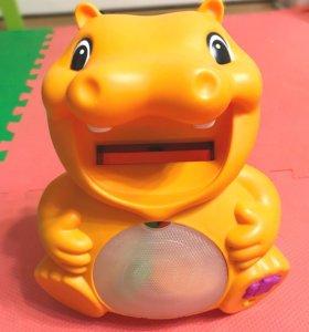 Детская развивающая игрушка Бегемот