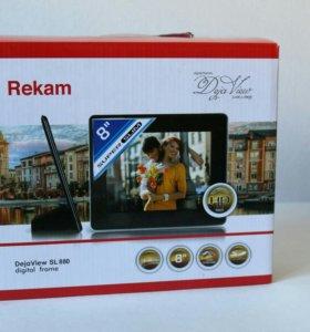 Новая Цифровая Фоторамка Rekam Dejaview SL 880