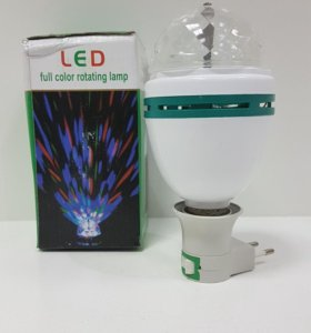 Лампа LED крутящаяся