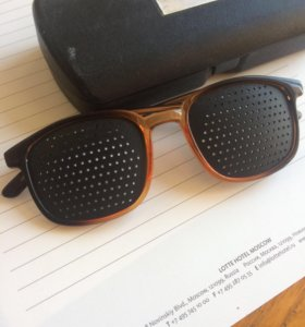Очки-тренажёры laser vision