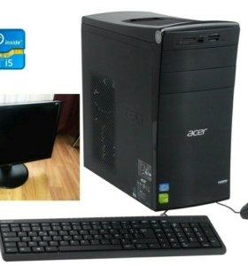 Acer на базе Intel i5 полный комплект +Много всего
