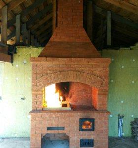 Печник ,каменщик , ремонт исправлений дымящех пече