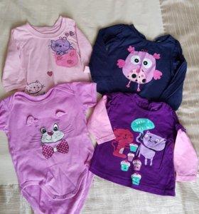 Набор одежды для девочки 2-6 мес