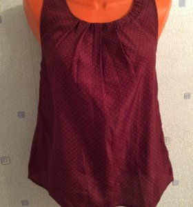 Новый топик, блуза бордовый