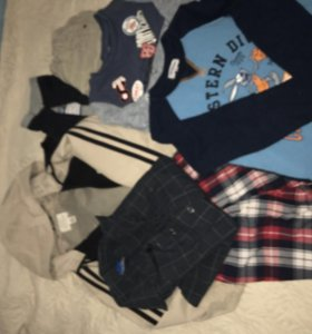 Одежда на мальчика 122см