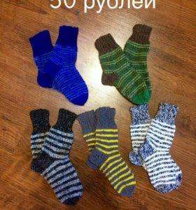 Носки ручной вязки для всех членов семьи