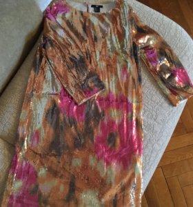 Платье новое, в пайетках