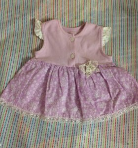 🌸Новый Комплект для девочки (платье+боди)🌸